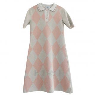 Prada Lurex Knit Mini Dress