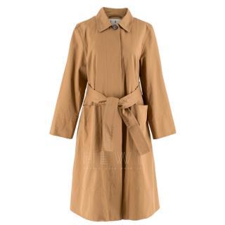 Trademark Bethnal Camel Twill Oversized Trench Coat