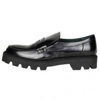 Mulberry Track sole flat loafers