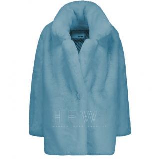Each x Other Vegan Caban Faux Fur Coat