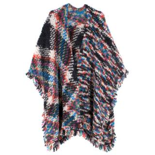 Missoni Wool Blend Multi-coloured Poncho