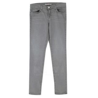 J Brand Grey Skinny Jeans