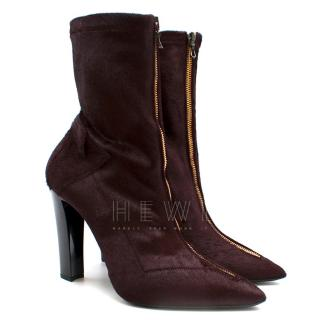 Roland Mouret Roxy ii calf hair boots