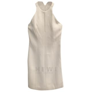 Bottega Veneta Grey Key-Hole Sleeveless Dress