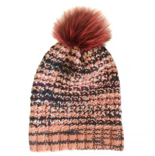 Missoni Crochet Knit Beanie