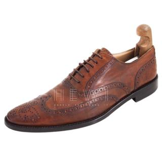 Dolce & Gabbana Antique Brown Brogues