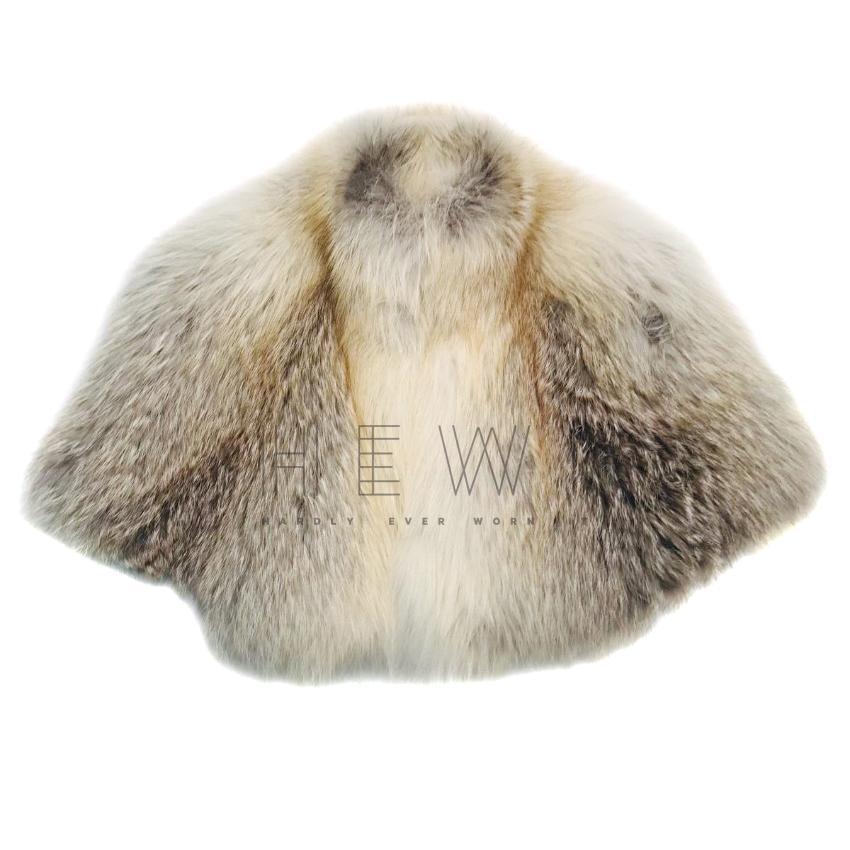 Amanda Wakely Fox Fur Cropped Jacket