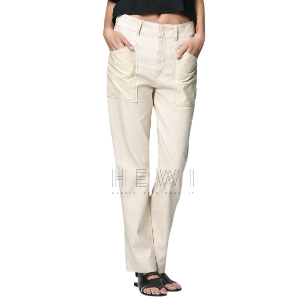 Isabel Marant Visby Straight Leg Trousers