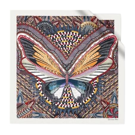 Dior Ritual-D orange 90 square scarf - New Season
