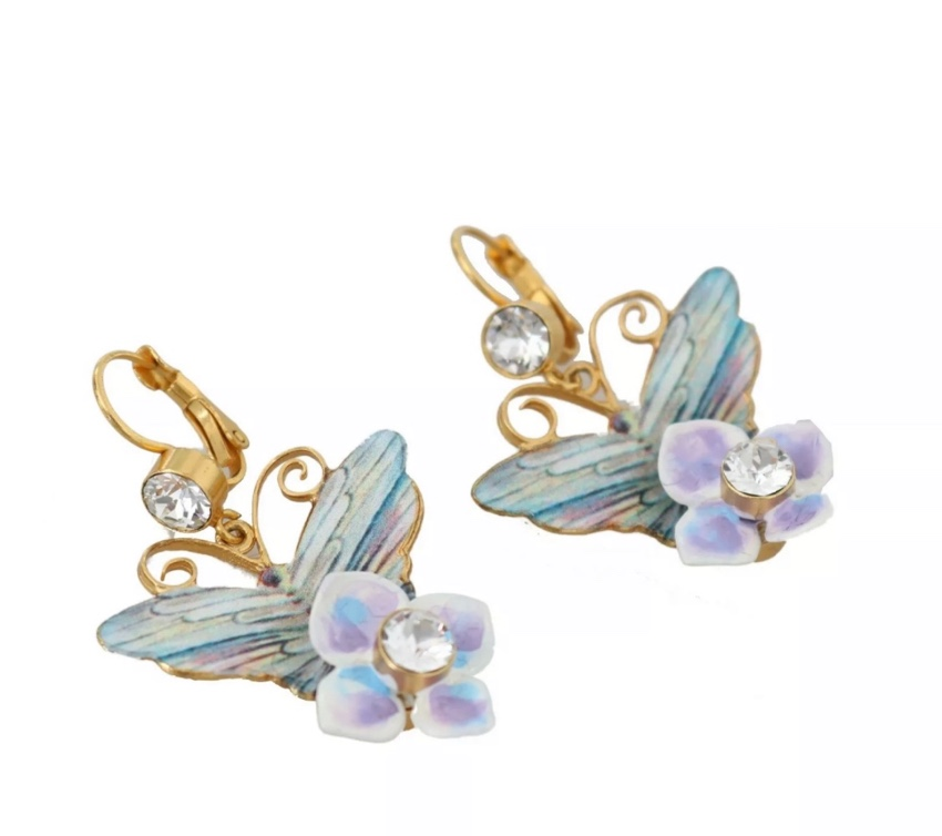 Dolce & Gabbana Hydrangea Earrings