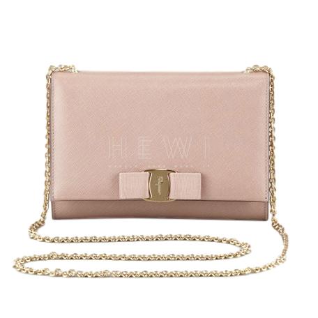 Salvatore Ferragamo Miss Vara Bow saffiano leather bag