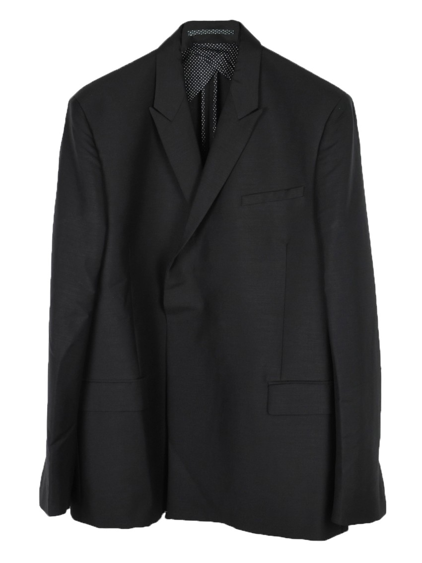 Kilgour mohair blend double breasted jacket
