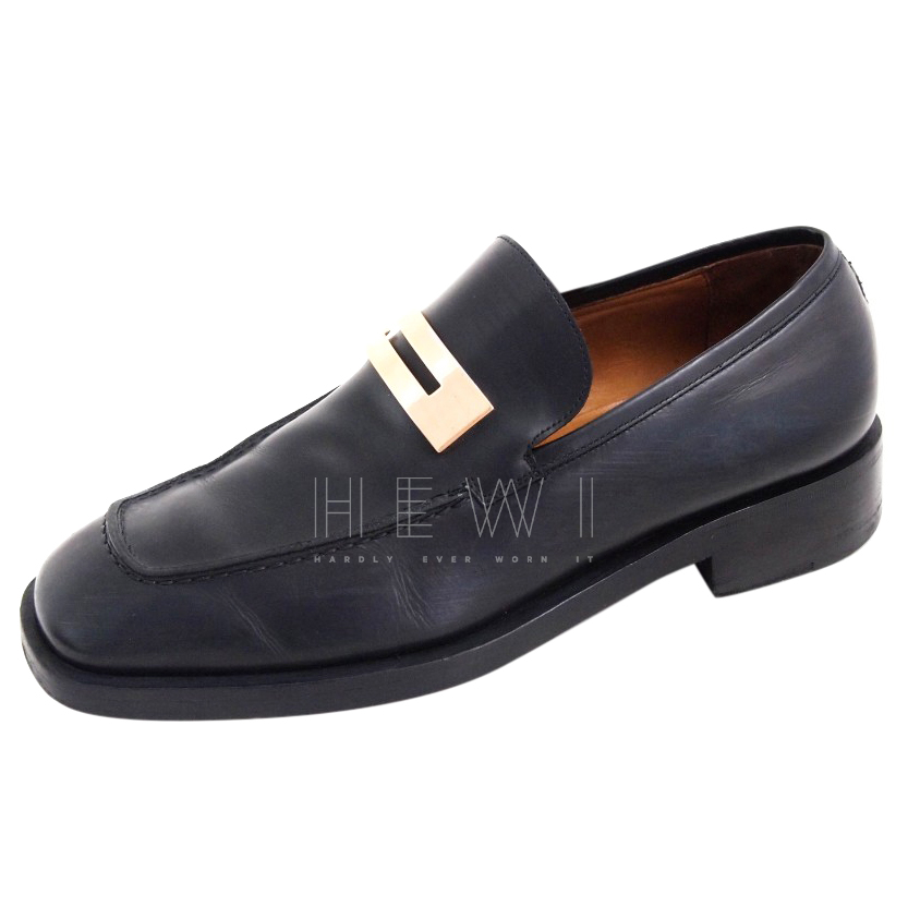 Gucci Black Moccasin Loafers