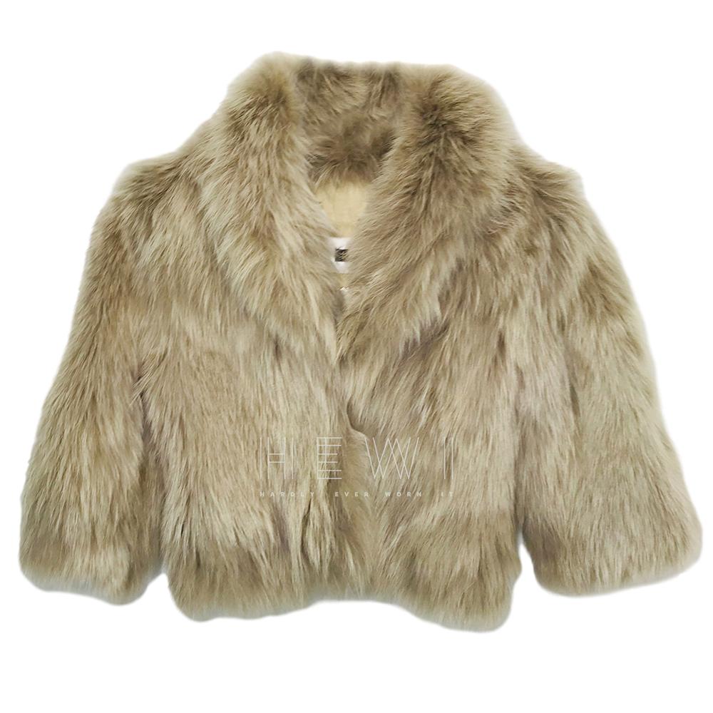 Plein Sud fox fur jacket