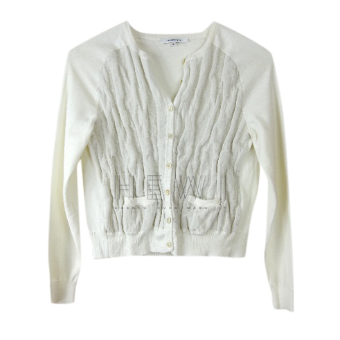 Carven dusty beige cardigan