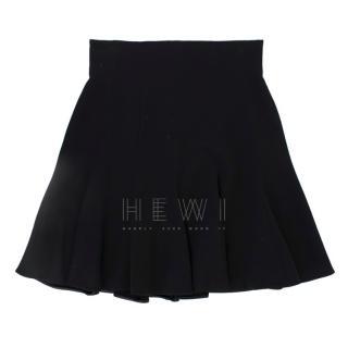 Dolce & Gabbana Black High Waisted Circle Skirt