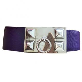Hermes Collier de Chien Buckle & Reversible Leather Belt