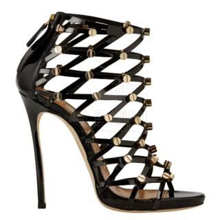Dsquared2 Xenia Patent Black Booties