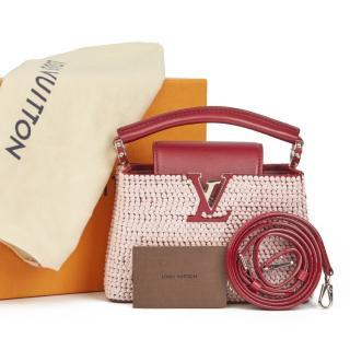 Louis Vuitton Embellished Leather Mini Cappucines Bag