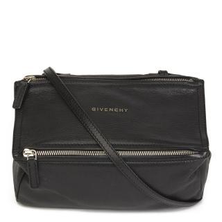 Givenchy Black Leather MIni Pandora Bag