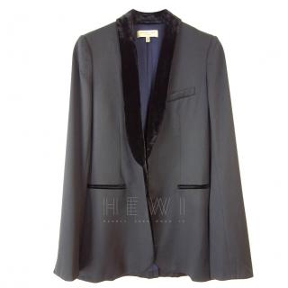Jasmine Di Milo black longline blazer