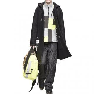 Christopher Raeburn patchwork raglan fleece jacket