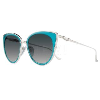 Chrome hearts Vagenius II sunglasses in Aqua