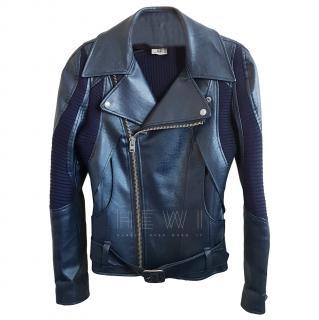 junya Watanabe for Comme Des Garcons Leather Biker Jacket