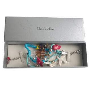Christian Dior Multi-Coloured Beaded Embellished Bracelet