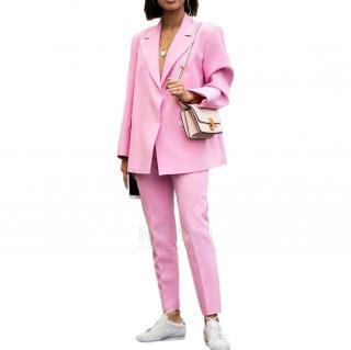MSGM Pink Tailored Jacket