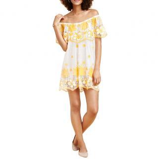 Miguelina Angelique Off The Shoulder Mini Dress