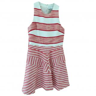3.1 Phillip Lim Red Melange Stripe Dress
