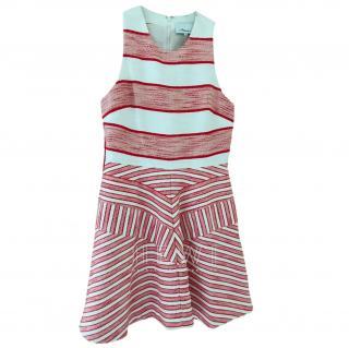 3.1 Phillip Lim Red Melange Stripe Dress