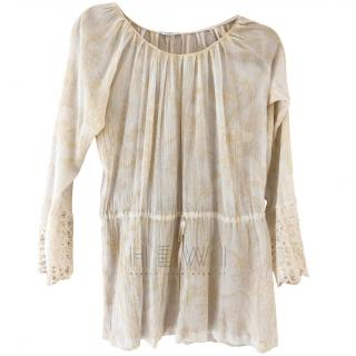 La Perla Villa Toscana Lace Detailed Cover-Up