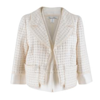 Oscar de la Renta Tweed Jacket
