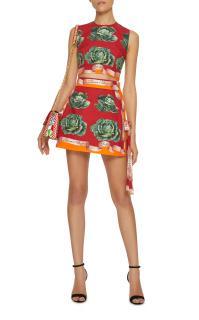 Dolce & Gabbana St.Cabbage Skirt & Top