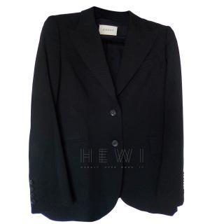 Gucci Black Classic Blazer