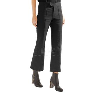 Isabel Marant Lyre Cropped Flare Trousers