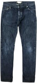 Burberry dark blue denim low waist jeans