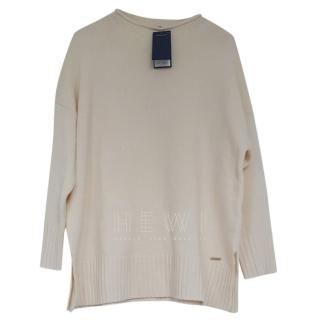 Polo Ralph Lauren Cream Cashmere Blend Jumper