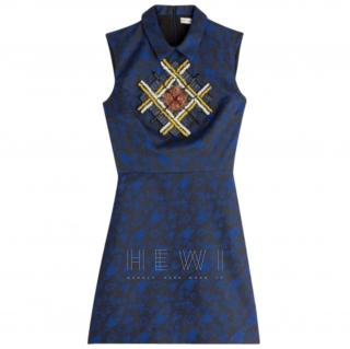 Mary Katrantzou Embellished Jacquard Mini Dress