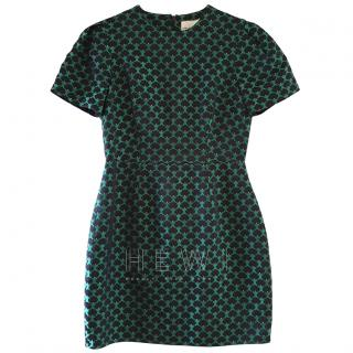 Mary Katrantzou Green Printed Mini Dress