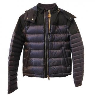 Burberry Blue Down Puffer Jacket