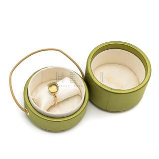 Pomellato Nudo Rose & White Gold with Lemon Quartz Ring