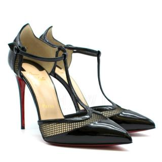Christian Louboutin Mrs. Early T-Strap Red Sole Pump