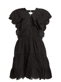 Sir. Leila ruffled cotton mini dress