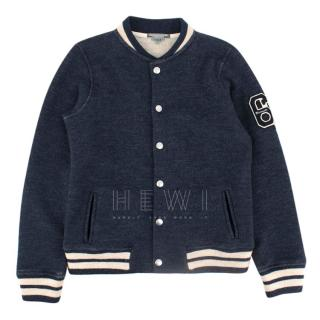 Bonpoint Kids Wool Bomber Jacket