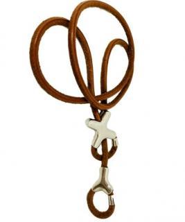 Hermes Palladium Rope Belt