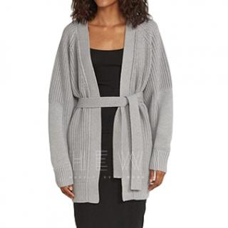 Ninety Percent Merino Chunky Rib Cardigan - Current Season