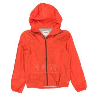 Bellerose Hyno Puffer Jacket In Neon Orange